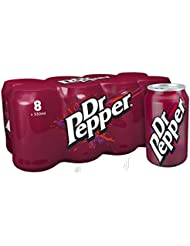 Dr Pepper 8 x 330ml Cans