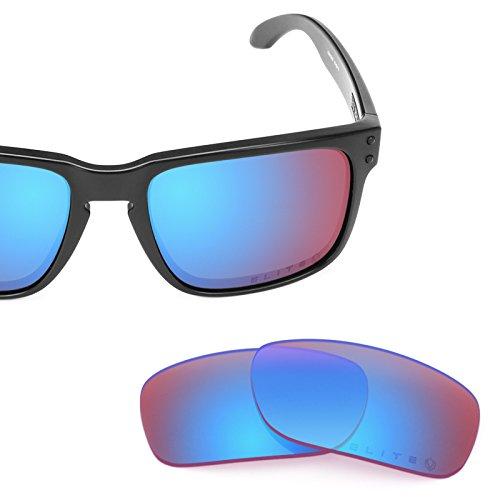 Verres de rechange pour Oakley Holbrook — Plusieurs options Elite Syncline Rose MirrorShield®