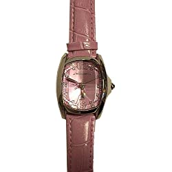 Binkey Kok; Edition Nothing ct7107al-37-Clock, Lambskin Leather Strap Pink