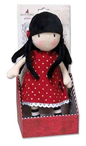 Gorjuss M-01-G Muñeca de Trapo en Display - New Heights, 30 cm