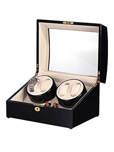Rothenschild Uhrenbeweger für 4 + 5 Uhren RS-1205-BL
