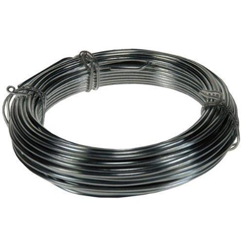 15m de long fil en acier inoxidable Plante nouer Fixation galvanisé pour jardin 1.6mm