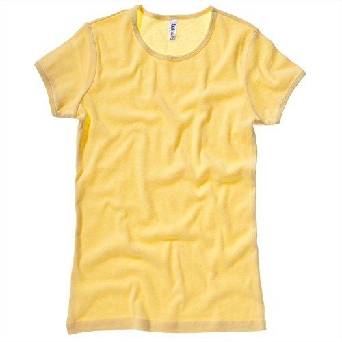 Bella CanvasDamen T-Shirt Gelb - Gelb