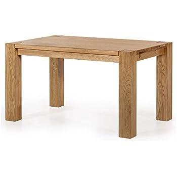 Esstisch Eiche massiv ausziehbar 160 - 260 x 100 cm Tisch