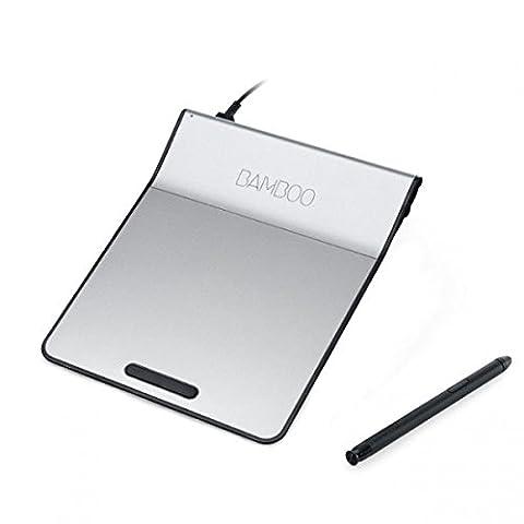 Wacom Bamboo Pad USB ink. Stift CTH-301K (Trackpad & Touchpad für Windows & Mac) Metallgrau-Schwarz
