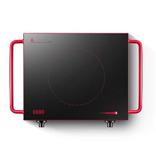 TSTYS Placa de inducción, electrodoméstico Estufa cerámica Estufa Inteligente 2200W microcristalina Panel...