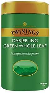 Twinings Darjeeling Green Whole Leaf Tea, 100g Tin