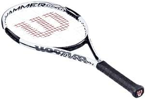 Wilson Herren Tennisschläger Hammer 6, weiß/schwarz, L0, WRT6530000