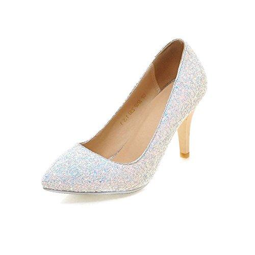 Principessa della moda cristallo-bianco scarpe da sposa/ abito da sposa donna scarpe da sposa A