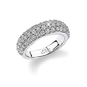s.Oliver Basics  Damen-Ring 925 Sterlingsilber Gr. 52 355001