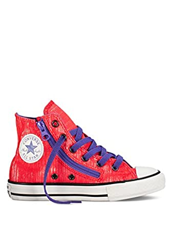 Converse Damen Woman Girl Sneaker Gr. 36 (US4) Chuck Taylor All Star pink High Top *** CTAS DBLE ZIP HI DIVA PINK *** 642788F Canvas