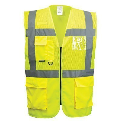 Portwest Workwear Madrid Executive Mesh Vest - C496 - EU / UK