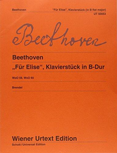 vierstück in B-Dur: Nach dem Autograf und Erstdruck. WoO 59 and 60. Klavier. (Wiener Urtext Edition) ()