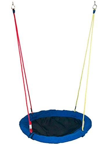 Hoga Balu Nestschaukel Gartenschaukel 90 cm 125kg blau GF21