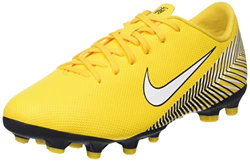 Nike Unisex-Kinder Vapor XII Academy Neymar MG Fußballschuhe, (Gelb/Schwarz 710), 38 EU (Neymars Fußballschuh Kinder)