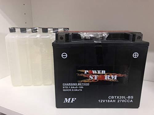 Batteria moto Power Storm CBTX20L-BS (YTX20L-BS) KAWASAKI JH750 E1 (X-4) 750 1995-1999