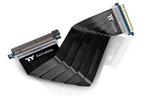 Thermaltake AC-045-CN1OTN-C1 PCI Express Extender, PCIE 16X, 300mm Kabel schwarz