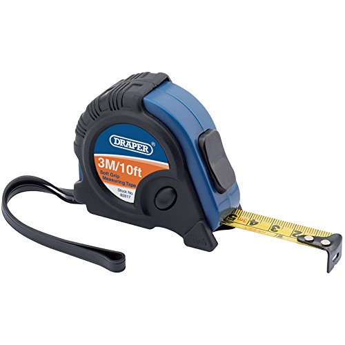 DRAPER 828173m/10ft Maßband Professional-schwarz/blau