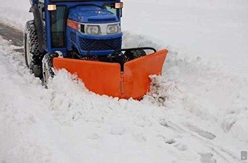 Universal Vario Schneeschild V 125cm hydraulisch Schneeschieber Winterdienst