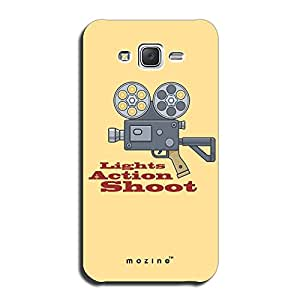 Mozine Lights Action Shoot printed mobile back cover for Samsung galaxy on5