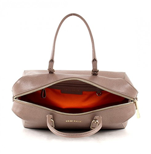 Coccinelle Flo Shopper Tasche Leder 30 cm taupe