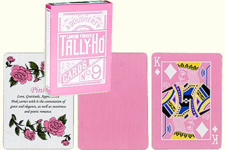 tally-ho-reverse-fan-back-pink-limited-ed-by-aloy-studios-uspcc