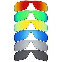 MRY 6pares polarizadas lentes de repuesto para Oakley Batwolf gafas de sol