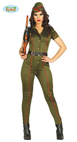 Guirca Costume soldatessa militare donna carnevale adulto 8084_