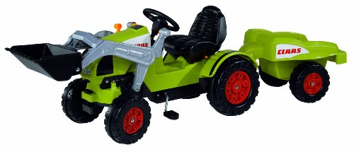 #BIG 800056553 – CLAAS Celtis Loader + Trailer Kindertraktor#