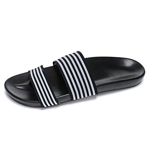 sandales d'été/pantoufles de loisirs hommes/Tongs de caractère/Chaussons de plage anti-dérapant A