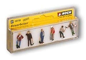 NOCH - Figuras de Trabajadores de la construcción Importado de Alemania