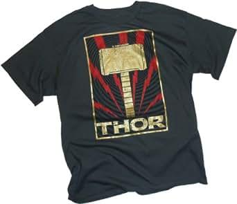 Golden Hammer -- Thor: The Dark World Movie T-Shirt, XX-Large
