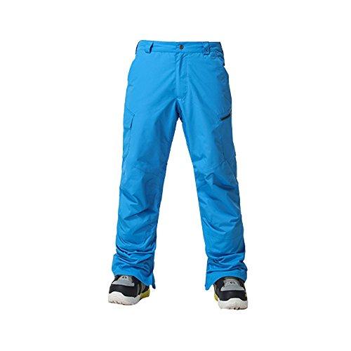 Wonny Herren Skihose Pants Wasserdicht Snowboard Winter Snowboardhose Blau XL