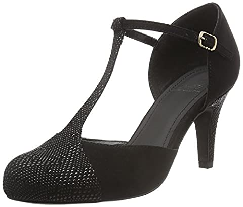 Femmes Noir Mary Jane Shoes - Another Pair of Shoes Patricee2, Mary Jane