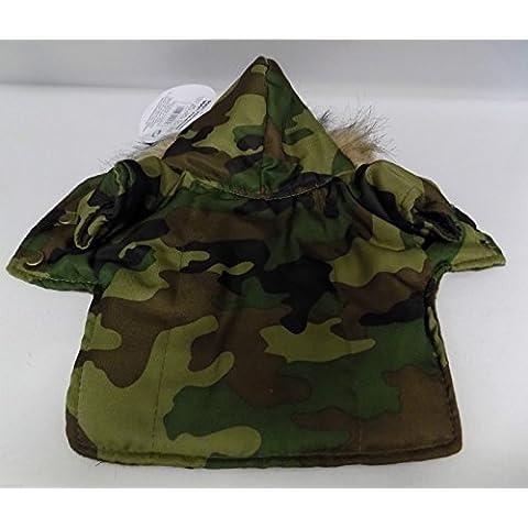 Sudadera militar para perro con capucha varios tamaños