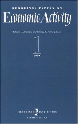 Brookings Papers on Economic Activity 2000: 1: 2000 Vol 1