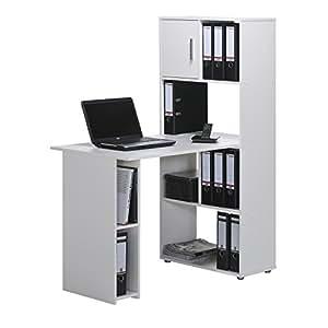 maja m bel mini office salzach ca 60x144x114 cm wei k che haushalt. Black Bedroom Furniture Sets. Home Design Ideas