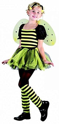 (Generique Bienen-Kostüm für Mädchen 122/134 (7-9 Jahre))