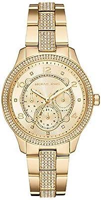 Michael Kors Reloj Analógico para Mujer de Cuarzo con Correa en Acero Inoxidable MK6613
