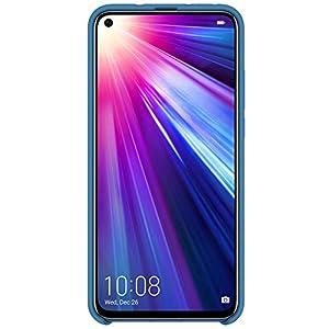 Honor View 20 (pantalla de 6,4'', cámara trasera 48 MP, cámara frontal 25 MP, 6GB RAM, 128 GB batería 4000mah) + Funda de Silicona Protectora, color Azul [Versión Española, Exclusivo Amazon]