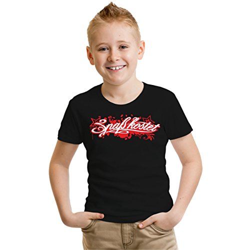 Kinder T-Shirt Spaß Kostet Red Star Schwarz