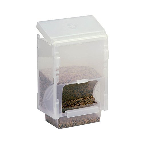Rob Harvey Specialist Feeds Dispensador Ahorro Mangiatoia 1 kg, para Todas Las jaulas y pajareras, 14 x...