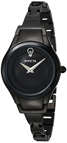 Invicta Women's 'Gabrielle Union' Quartz Stainless Steel Casual Watch, Color:Black (Model: 23272)