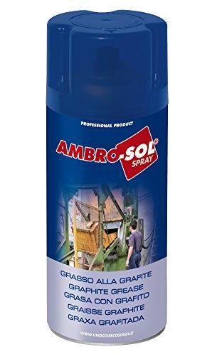 Ambro-Sol G019 Grasa con Grafito, Gris Oscuro, 400 ml