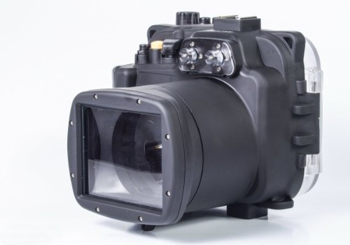 Mcoplus - Unterwasser digitalkamera - Unterwassergehäuse für Sony Kamera NEX6 16-50mm Objektiv bis 40m Wasserdicht leicht bedienbar