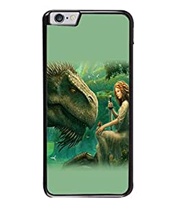 PrintVisa Animated Graphics High Gloss Designer Back Case Cover for Apple iPhone 6