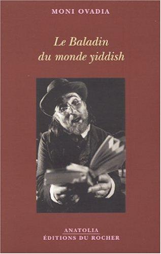 Le baladin du monde yiddish par Moni Ovadia