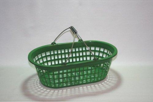 Erntekorb Gartenkorb oval 15 kg grün mit Bügel