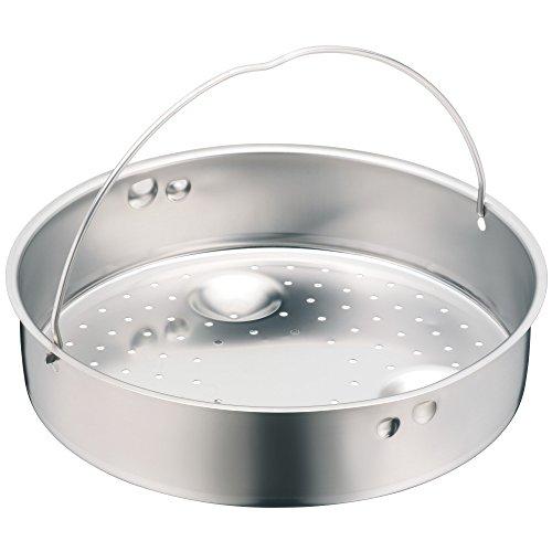 WMF Schnellkochtopf Einsatz, Dünsteinsatz, gelocht, für Ø 22 cm, Cromargan Edelstahl, spülmaschinengeeignet