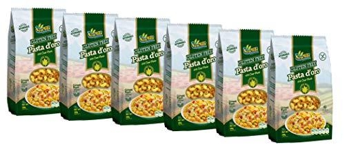Pasta d´oro - Glutenfreie Nudeln (Cornetti Rigati) aus Maismehl 12er Pack (12 x 500 g)